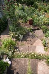 A garden path